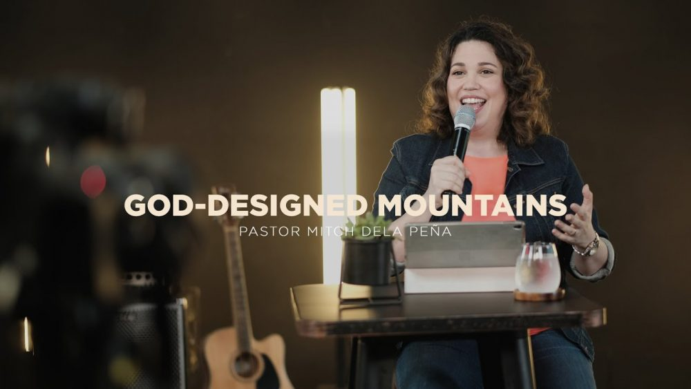 God-designed Mountains Image